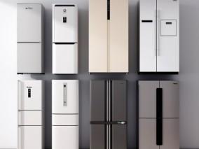 冰箱  3d模型