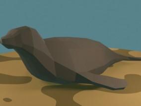 海豹  3d模型
