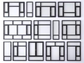 窗户 3d模型