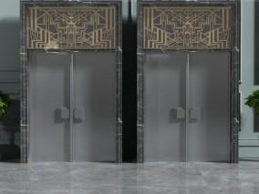 门 3d模型