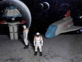 月球  3d模型