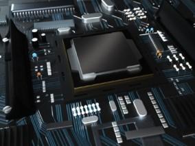 5G 科技芯片3D模型