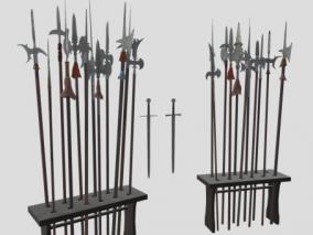 PBR-古代近战武器架