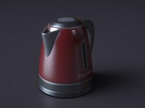 热水壶 3d模型