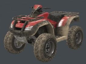 沙滩车 3d模型