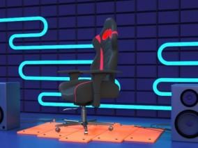 游戏电竞椅子3D模型