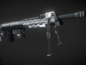 PBR-DSR-1狙击步枪CG模型