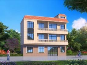 别墅外观 3d模型