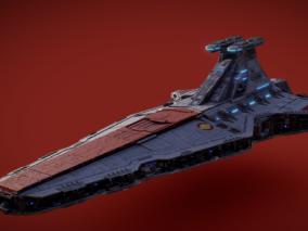 PBR 高品质 宇宙飞船 舰队 写实 科幻 战斗飞船