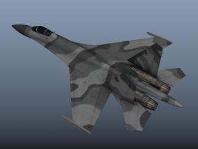 苏-27 俄罗斯苏27战斗机