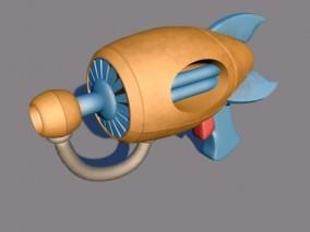水枪 科技枪 气枪 玩具枪 激光枪 科幻枪 脉冲步枪 导弹枪 3d模型