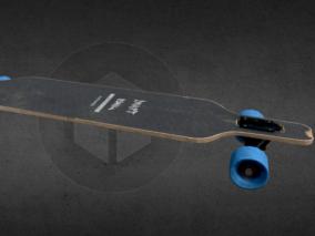超写实滑翔滑板