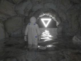 山洞隧道 岩洞岩石