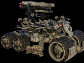 科幻战车月球车