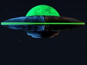卡通飞碟UFO