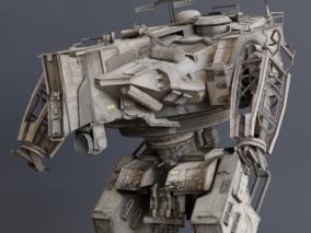 机甲  机器人  战争机器  科幻机甲 3d模型