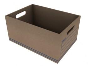 纸筐子 3d模型