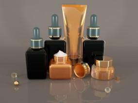 化妆品 3d模型