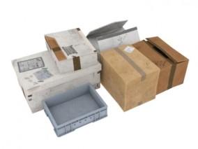 纸箱 3d模型