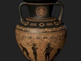 陶罐  3d模型