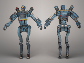 机器人 3d模型