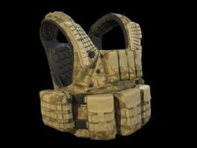 PBR 防弹衣 军用防弹衣 3d模型