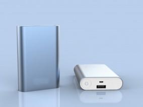 手机移动电源 充电宝3D模型