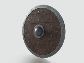 PBR中世纪 斯巴达盾牌