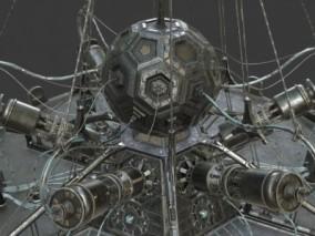 科幻机器 太空舱