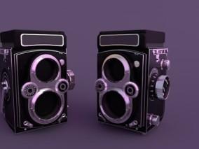 儿童相机 万花筒 玩具 老式相机 音响 3d模型