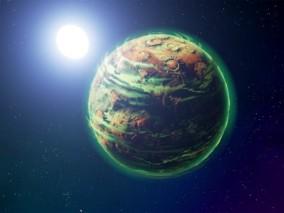 ue4 高级科幻球 天体 虚幻4