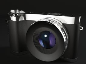 胶卷数码相机 单反 手持相机 旅游 胶卷 底片 摄影 摄像机 3d模型