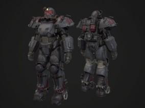 机甲 机器人 电力机甲 3d模型
