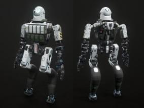 工业机器人 战斗机器人 3d模型