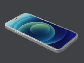 iphone13手机3D模型