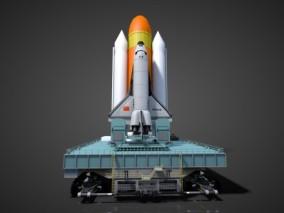 中国航天发射架发射基地火箭发射