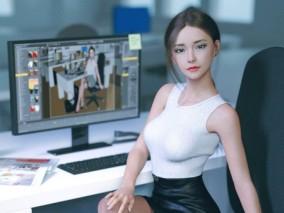 P站画师AROLL逼真的人物建模3D作品集