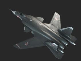 PBR 苏-47金雕战斗机CG模型