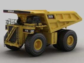 卡特797B矿山车