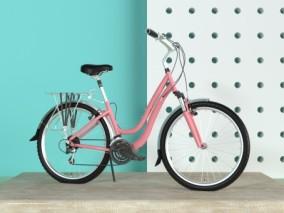 自行车单车C4D模型