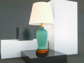 台灯 桌面灯 桌灯 电灯 灯具 功能灯 书房灯 床头灯 宜家 3d模型