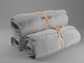 卷起来的毛巾