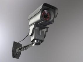 监控摄像头cg模型