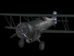 霍克3鹰Ⅲ老式战机