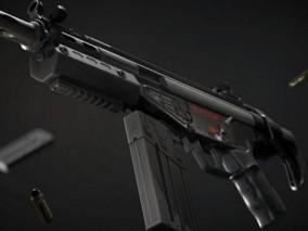 冲锋枪  HKG3