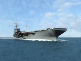 尼米兹航母 写实精模尼米兹航母cg模型