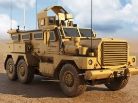 美洲狮MRAP 战车 坦克 军事车辆 美军战车 装甲车 军用车 步战车 军事巡逻车