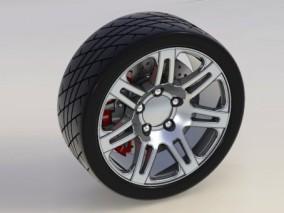 轮胎工业设计模型