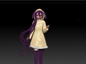 休比 哆啦 3d模型