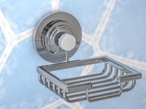 不锈钢架子 肥皂架 铁篮子 挂钩 洗浴用品 居家用品 五金